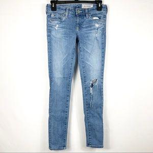 AG Adriano Goldschmied Jeans Super Skinny Sz 24